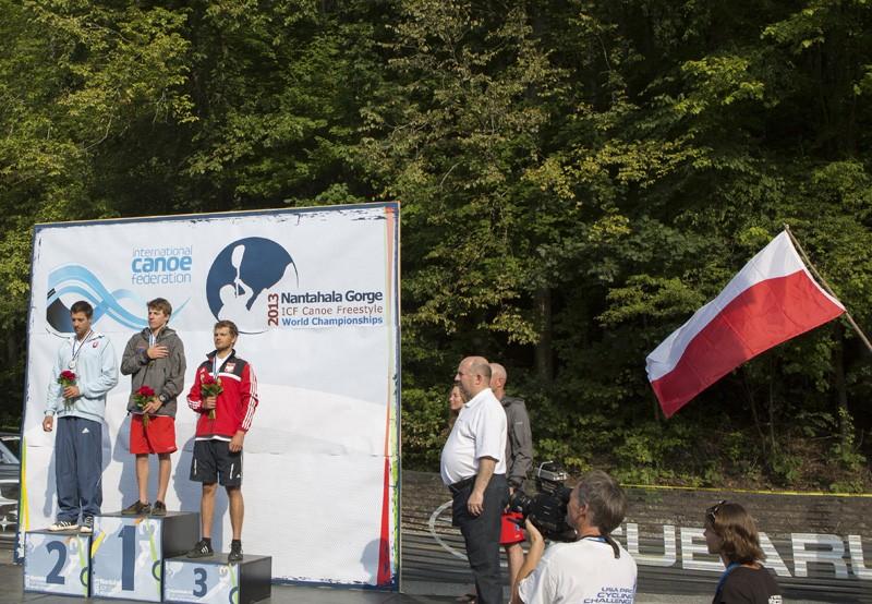men's k1 podium