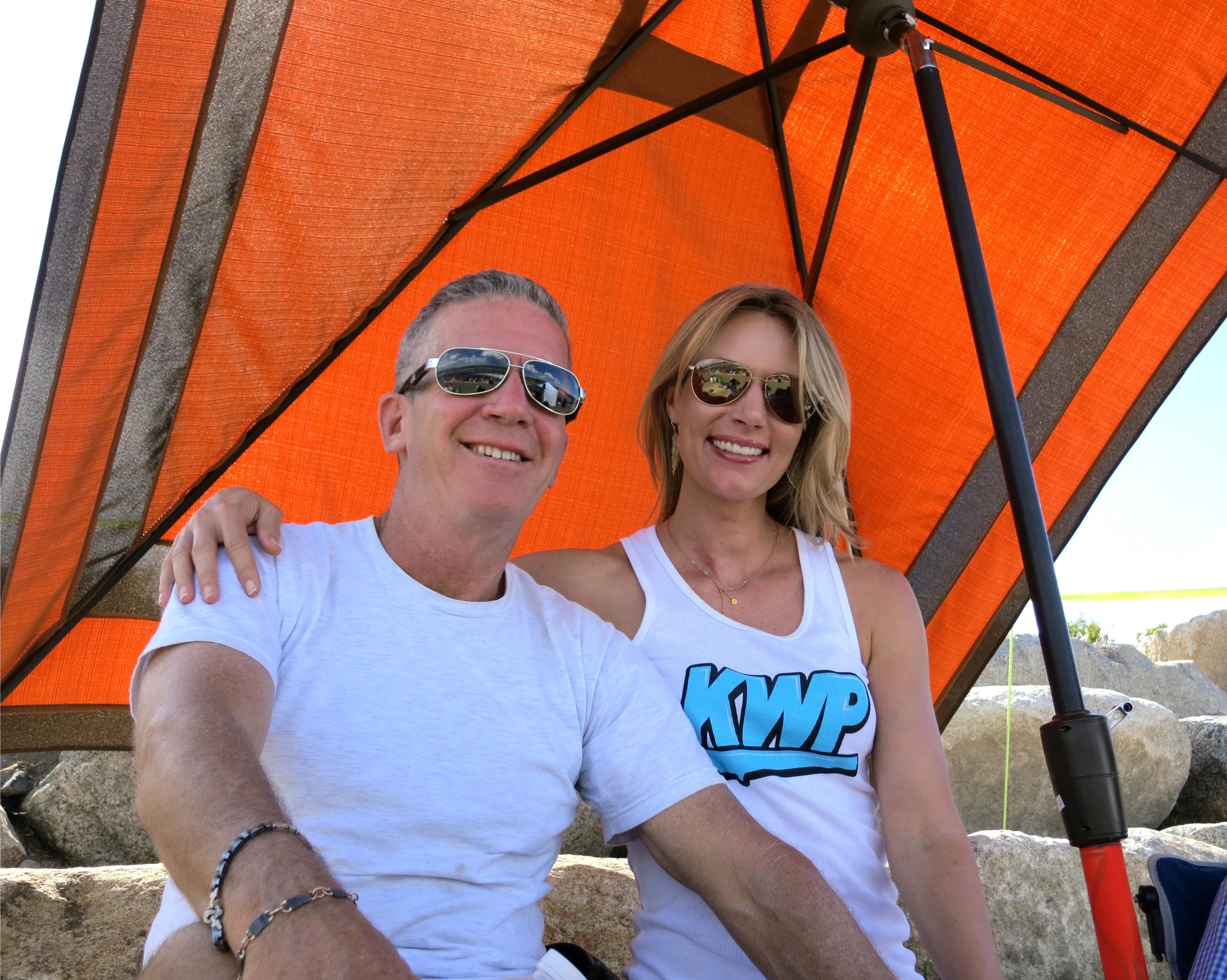 Mark Prickard and Wife Kristina.