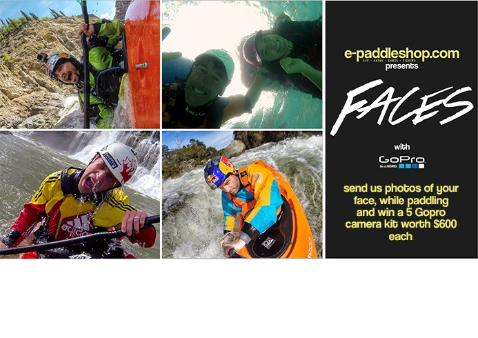 #PADDLEFACES – Welcome to the FACES Contest