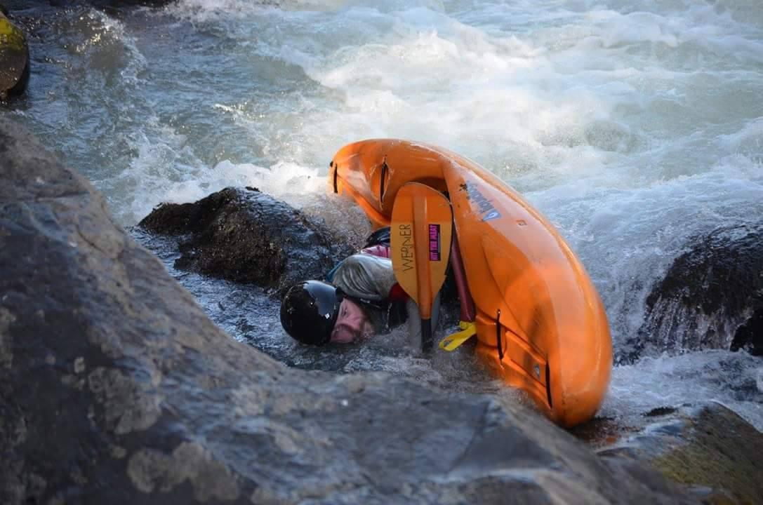#251 - Josh Stupka, rapid Garganta del Diablo, Upper Trancura River, Pucon, Chile