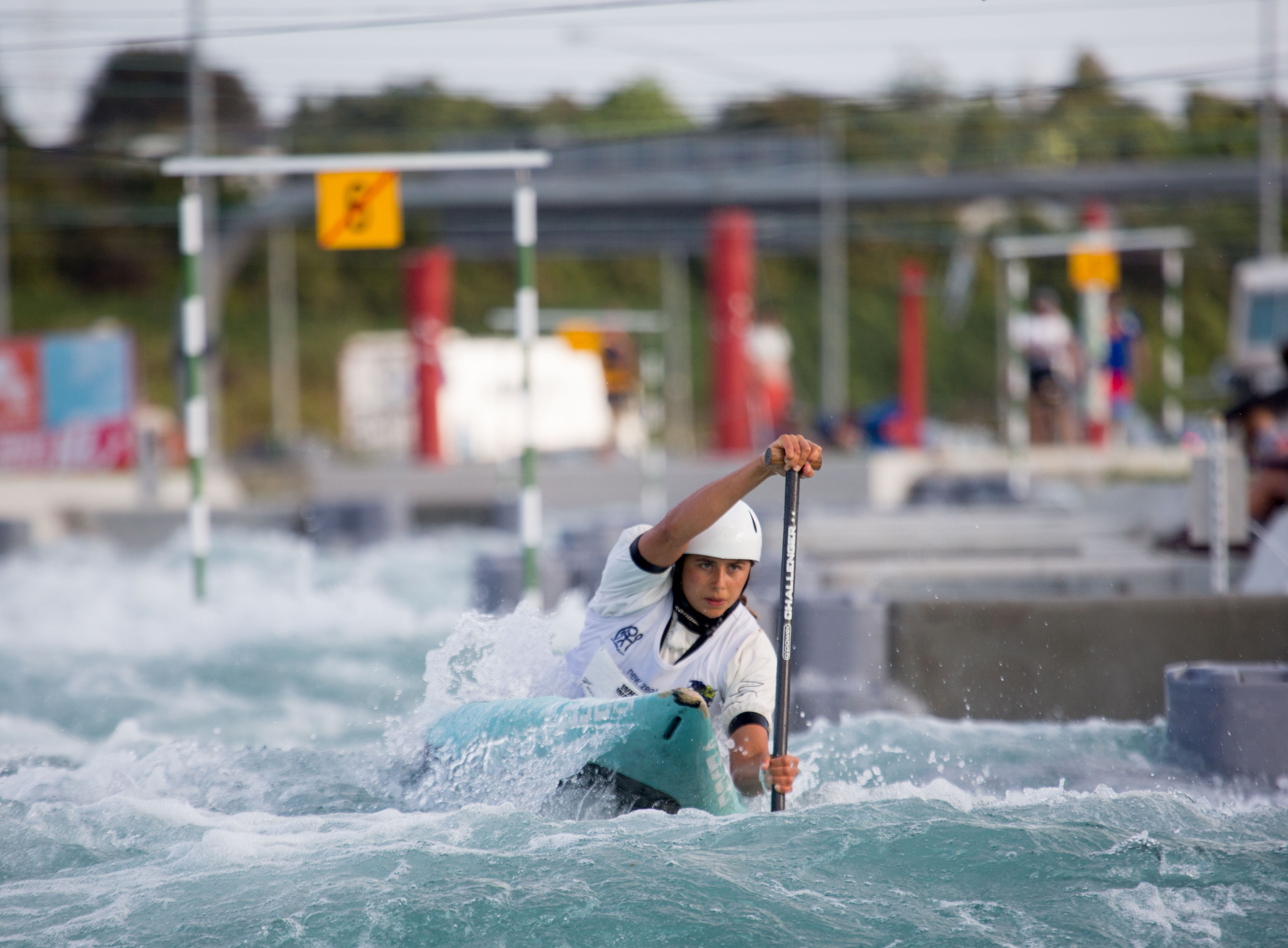 Noemie Fox (Australia) - women's C1© by Jamie Troughton/ Dscribe Media /Kayaksession.com