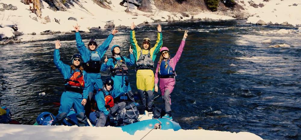 Raft + Ski Mission along the Salmon River, Part1
