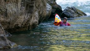 Clay Wright the 2019 Squirt kayak World Champion