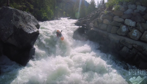 Icicle River Near Leavenworth in Washington State. Featuring Marco Colella and Will Grubb.