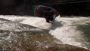 Quim Fontane & David McClure road to kayak freestyle world