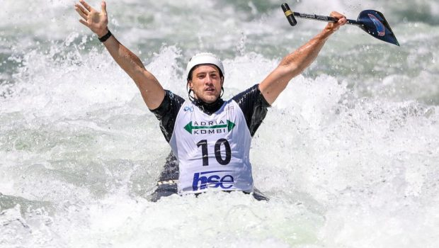 C1 Men winner Roberto Colazingari