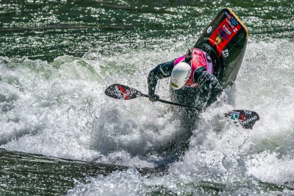 Hitomi Takaku from Japan takes 5th in the Women's K1 Freestyle preliminary round