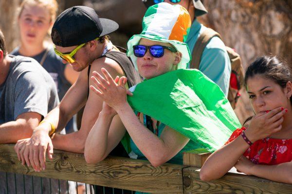 Irish fans ©Peter Holcombe:kayaksession.com