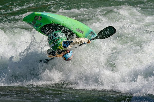 Junior women's bronze medalist Katie Fankhouser (USA). ©Peter Holcombe:kayaksession.com