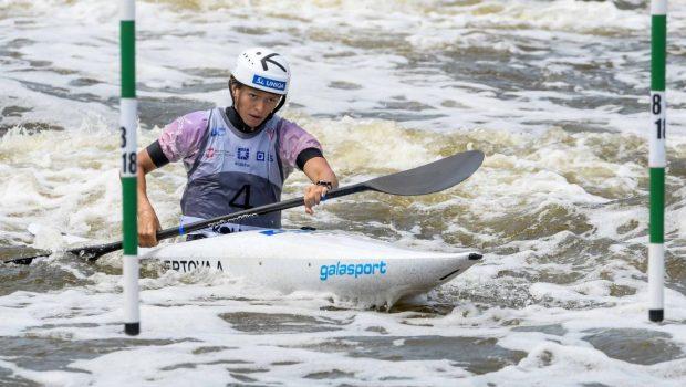 Amalie Hilgertova (Cz) ICF slalom world U23 & junior championships