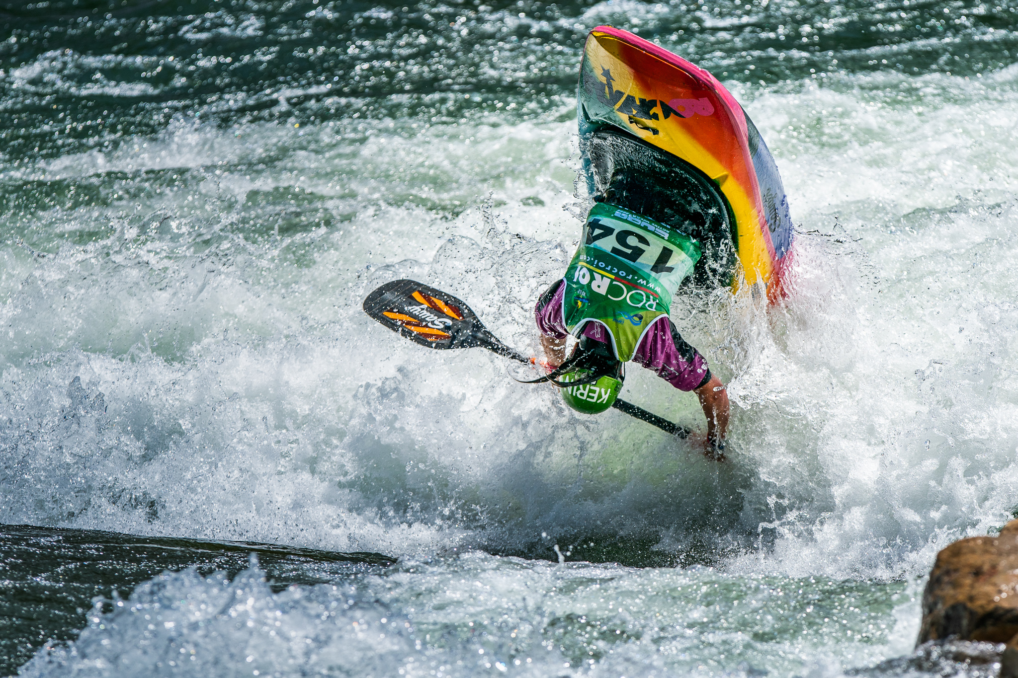 Otherwise know as the flying Kiwi, Courtney Kerin from New Zealand, lives up to her name in the women's prelim rounds