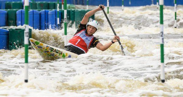 Brazil's Ana Satila U23 ICF slalom worlds, krakaw poland