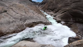 Dane Jackson & Carson Lindsay run Cheery Bomb on the upper cherry creek in california