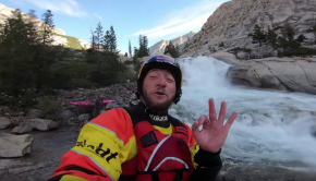 Dane Jackson kayaking the Middle Kings (California)
