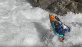Bren Orton runs the Oetz river in Austria ©kayaksessioN;com