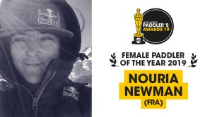 Nouria Newman (France) voted Paddler of the year 2019 in the women category