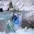 17 years old Czech Paddler Jan Němec whitewater kayaking in the european alps