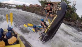 carnage reel from the 2019 rafting season in Columbus (Ga) on the Chattahoochee River whitewater park.