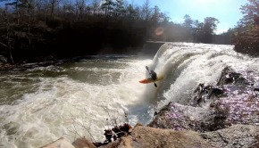 15 years old Alabama based paddler Caleb Jatko
