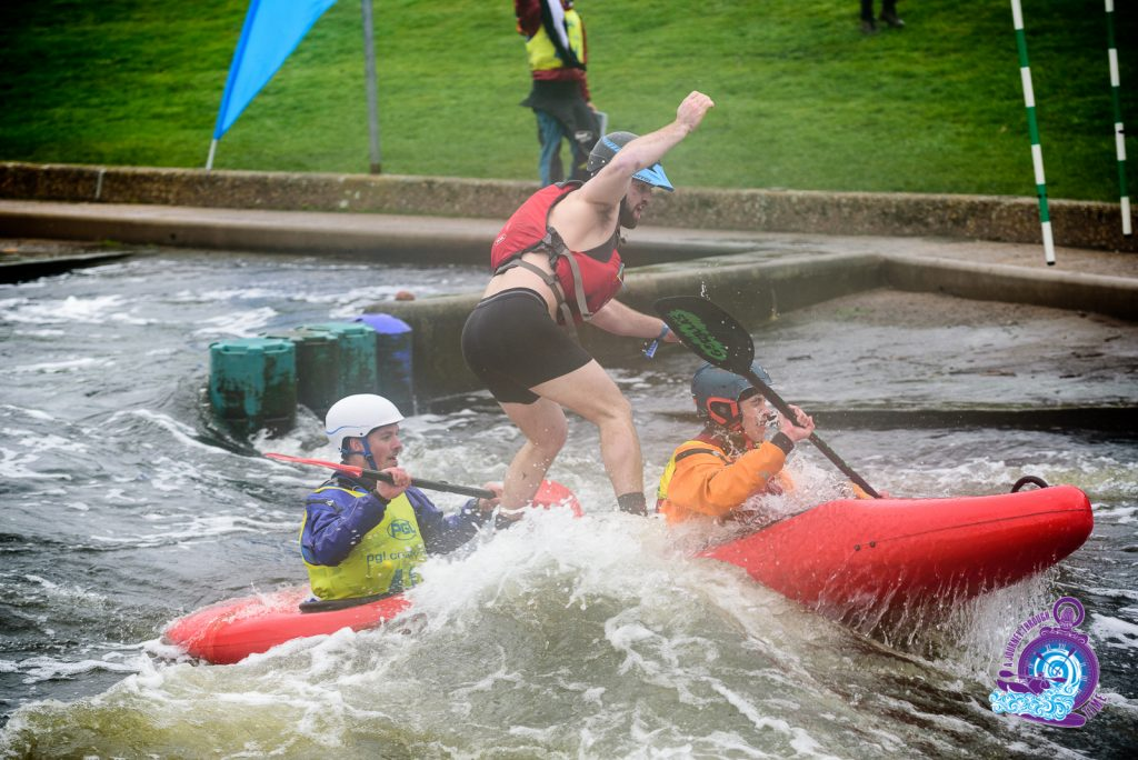 For just one weekend every March hundreds of students from all across the UK descend on the National White Water Centre, at Holme Pierrepont for a weekend of kayaking, partying and carnage.