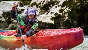 Open Canoe diva Sabrina Barm testing out her new sets of Freefall Paddles. Sabrina in this edit shows that despite the cold temperature outside, there is nothing like a session on the water with her canoe.