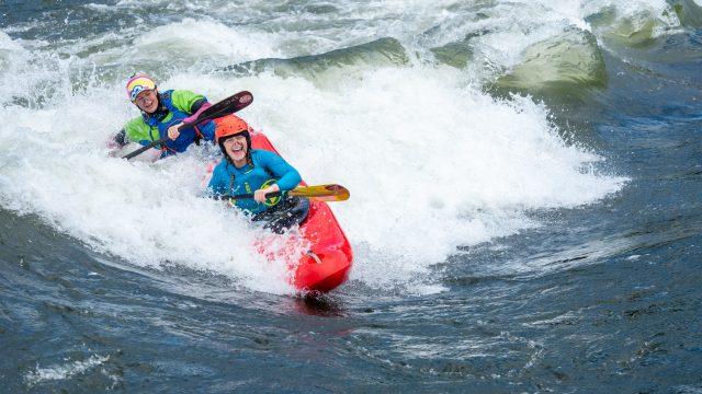 Tandem Kayaking - at the 2020 Nile River festival.