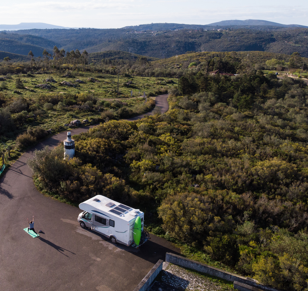 Whitewater App founder Mike Krutyanski dealing covid-19 stuck in portugal in his RV.