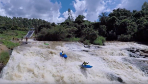 Awesome video report of the 4th Rio Selvagem whitewater festival, oneof Brazil biggest Whitewater event.
