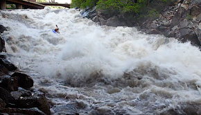 Jeremy Signorini kayaking featuring Glenwood Canyon (Barrel Springs), Glenwood Springs (Whitewater Park), Debeque Canyon (Big Sur), Gilman Gorge and Vallecito Creek.