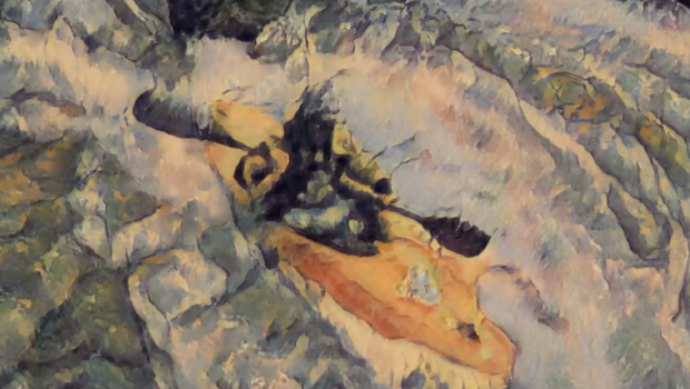 Image extracted from a short film - 120 moments of Zen - by Australian kayaker Kris Carson. Imagine if Van Gogh was riverside.. and really quick with the brush! Processed Using a Machine Learning Adaptive Style Transfer Model trained on the paintings of Cezanne, Monet, Gauguin, and Van Gogh. Footage from the 2019 Snowy River Extreme Race, Australia