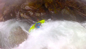 kayaker getting a nasty swim but getting rescued at the bottom of a waterfall. carnage reel starring by the Galician crew and friends, from 2013 to 2019. Most rivers are located in Galicia (Northwestern Spain). Other locations are Portugal (Castro and Cávado), Italy (Egua and Sesia), France (Guil & Upper Golo in Corsica), Espinareu (Asturias) and Upper Jondachi (Ecuador). Beaters: Antonio Otero, Miguel Pita, Javi Lugo, Gonzalo Portals, Guille Díaz, Xoan Otero, Angel Quintela, Aitor Arce, Serafín Fontao, Carlos Ares, Guillermo Fidalgo and Enrique Vilasuso. By: Antonio Otero Vázquez From: Galicia (Spain)