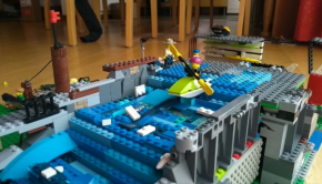 11 years old Marian Arnu from Germany creates this sick whitewater park kayaking lego animation, assisted by his sister Mia (13) et brother Jonathan (10).