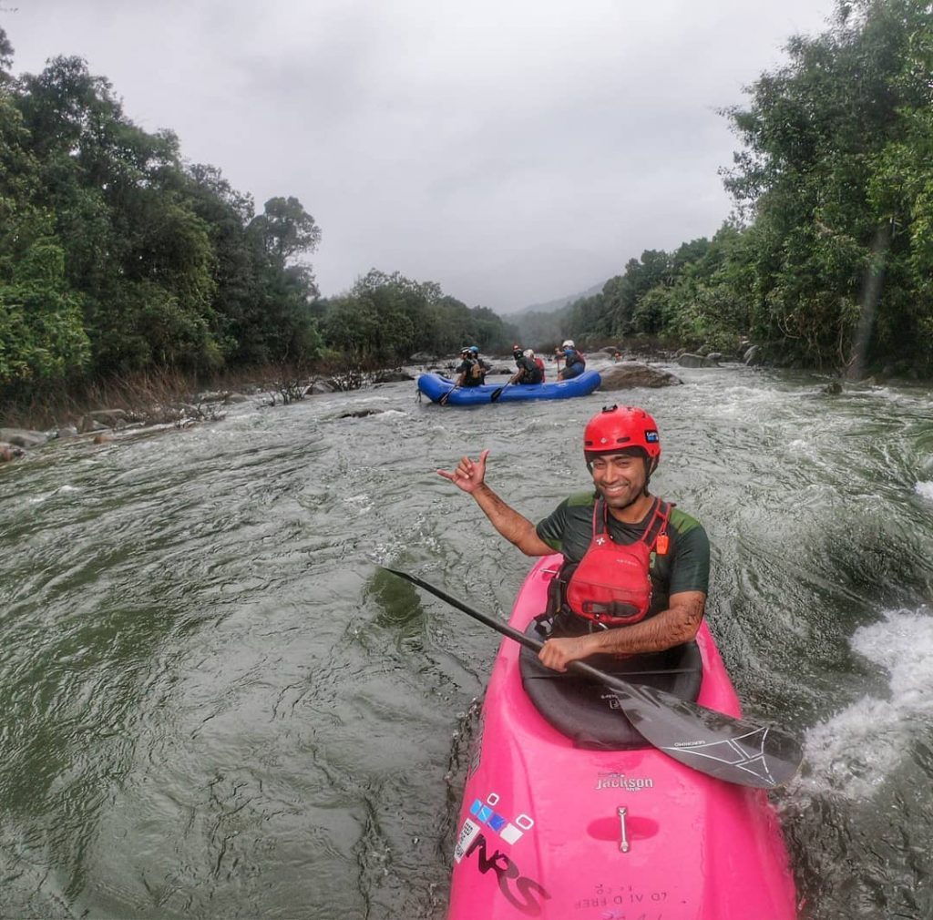 manik taneja malabar river festival organizer (India)