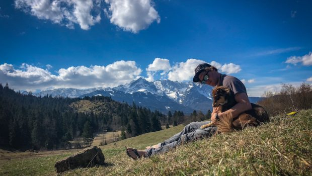 """German kayaker Quirin Haslberger aka. """"Quitschie."""" at home i Garmish-Partenkirchenc"""