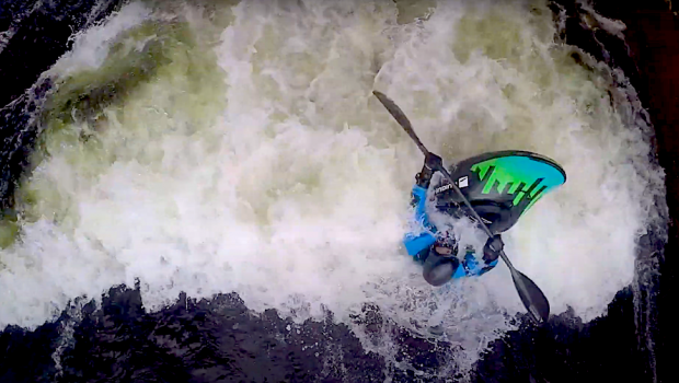 Finnish paddler Visa Rahkola and his mates got a sweet idea to make a few edits from their home run, the Kymiriver. The idea is to introduce the incredibly perfect practice freestyle spots they have up there. In this second Visa takes you down to another special spot. Why special? Because it only works if you get lucky and because its simply just so good.
