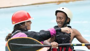 Jessie Stone Inner City to Greater World - Help Increasing Diversity in our Sport by Giving the Gift of Kayaking