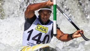 Togo's first ever Olympic medallist, Benjamin_Boukpeti is one of the numerous athletes supporting of the historic partnership between the ICF (International Canoe Federation) and the international non-profit Peaceandsport.