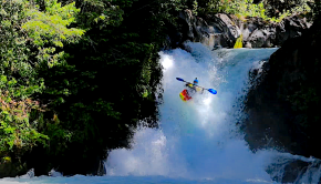 Stefan Schornsteiner and the Boof Tang Clan paddle the Rio Palguin an absolute classic in Pucon, Chile. And one of the best daytrips of you combine the upper with the middle and the lower part.
