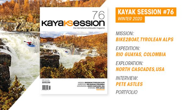 content kayak session magazine #76, winter issue