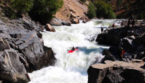 Sage Donnelly being the first Woman to ever run Big Falls on the South Fork of the Payette at 1,380 CFS (usually run around 600 CFS) and Selway Falls on the Selway Falls on the Selway River at over 9,000 CFS. She was 19 for Selway Falls and ran Big Falls right after turning 20.