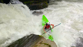 "Follow Asheville local Matteo Williams through 2020. "" It's been an awesome year for my growth in my kayaking. I completed a huge goal that was running Gorilla on the Green River. I kayaked in 3 countries and in 7 states."""
