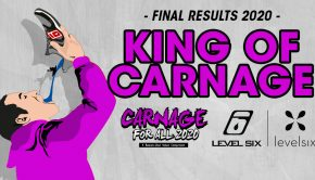 The Carnage for All video contest have been entertaining us for the past year now and it was time to announce the 2020 winners. In the category – King of Carnage – understand one single beater… the winners are…