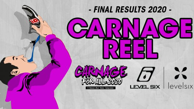 The Level Six Carnage for All video contest have been entertaining us for the past year now and it was time to announce the 2020 winners.