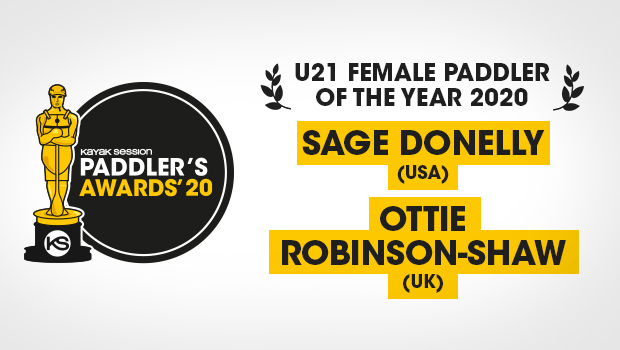 2020 Paddlers Awards Winners – Tie - Sage Donnelly & Ottie Robinson-Shaw (Non Profit Category)