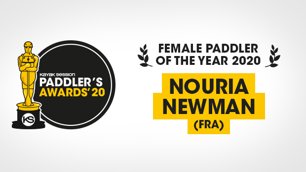 2020 Paddlers Awards Winners – Nouria Newman (Female Paddler of the Year)