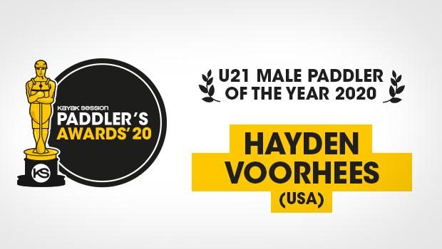 2020 Paddlers Awards Winners – Hayden Voorhees (U21 Male Paddler of the Year)