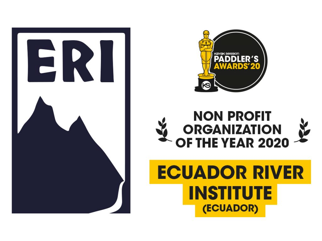 2020 Paddlers Awards Winners – Ecuadorian River Institute (Non Profit Category)
