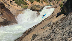 "US pusher Luke Landino throughout 2020. ""Definitely my best year yet! 2020 started in Chile running the Futaleufu and the Fuy then progressed to the West coast of the US running high water stouts with Team Scorch all season! Here are a few clips from the rivers that we hit"