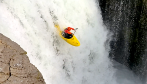Sean Groestein on Lower Lewis Falls