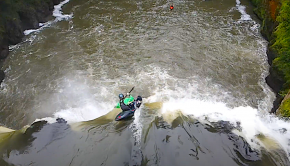 Team Dagger rider Logan Smith on some of the classic Mexican creeks.